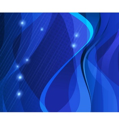 Abstract string background vector