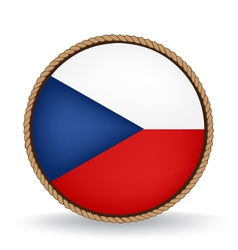 Czech Republic Seal vector image