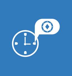 Icon casino stuff time vector