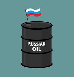 Russian barrel oil russia petroleum business vector