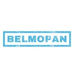 Belmopan Rubber Stamp vector image vector image