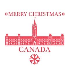 Greeting Card Canada vector image vector image