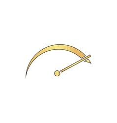 tachometer computer symbol vector image