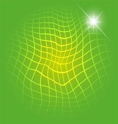 Light green with grid background vector