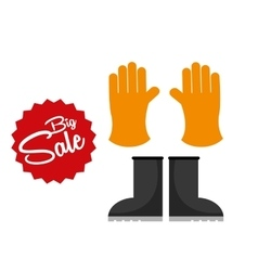 Big sale of farm tools vector