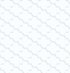 Quilling white paper horizontal marrakech vector