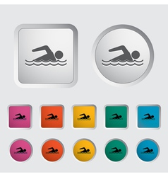pool vector image