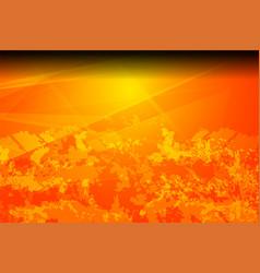 Orange grunge texture vector