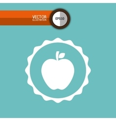 Fresh fruit design vector