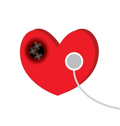 Heart disease vector