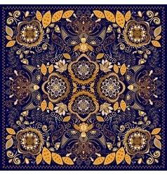 Ornamental Paisley pattern vector image