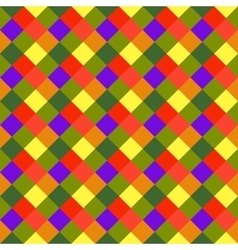 Seamless geometric checked pattern diagonal vector