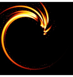 Abstract background-fire shape vector