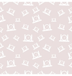 Seamless pattern with scissors vector