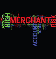 Best merchant services text background word cloud vector