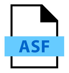 File name extension asf type vector