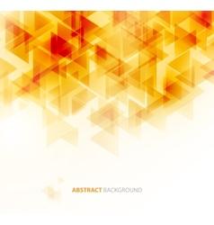 Orange shiny technical background vector image vector image
