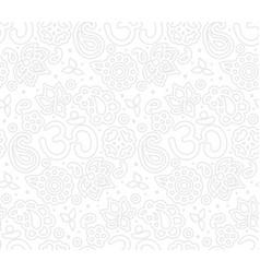 paisley zen pattern vector image vector image