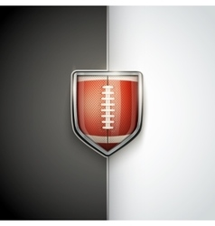 Premium template of us football vector