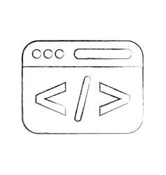 Template web programming language vector