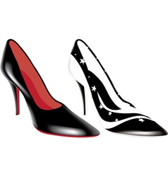 Fashion shoes vector