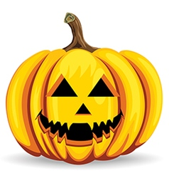 Pumpkin halloween vector