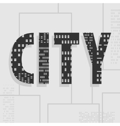 Symbol Of The City vector image