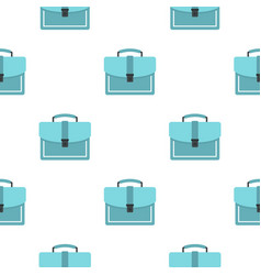 Briefcase pattern flat vector