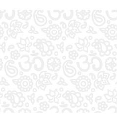 Paisley zen pattern vector