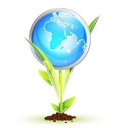 sun leaf vector image