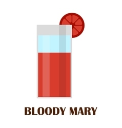 Blood mary vector