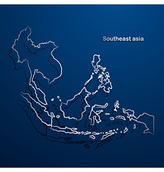 Asean map2 vector