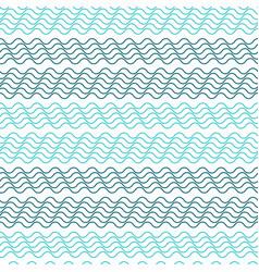 Seamless wavy stripes pattern vector