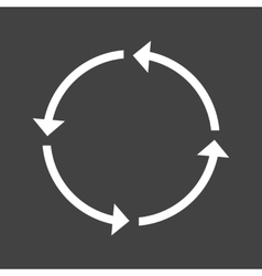 Circular road sign vector