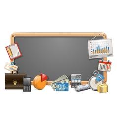 Business board vector