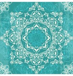 Decorative rosette background vector