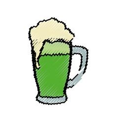 delicious beer draw vector image
