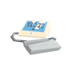 Pressure monitoring digital tonometer vector