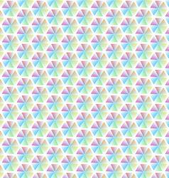 Abstract geometric line colorful hexagon seamless vector image vector image
