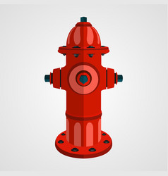 fire hydrant cartoon vector image