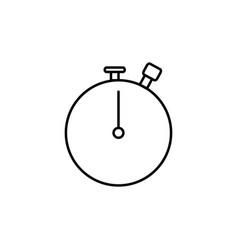 stopwatch icon vector image vector image