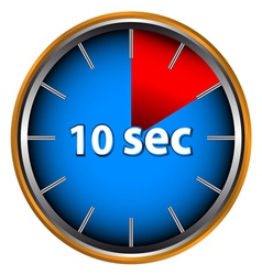 Ten seconds vector