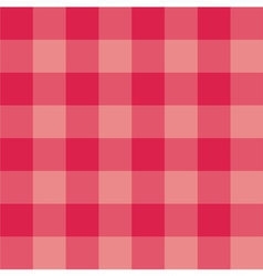 Seamless sweet red pink plaid background vector