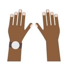 Human hands vector