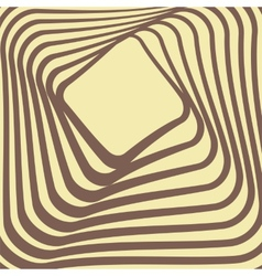 Abstract retro frame design vector image vector image