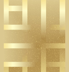 Gold geometric speckled background vector