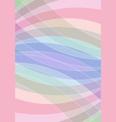 pastel colored abstract background soft colors in vector image vector image