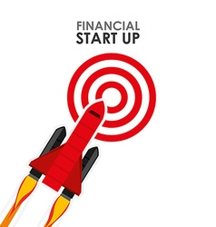 Financial start up vector
