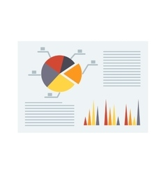 Business report vector