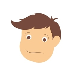 Man face icon male person design graphic vector